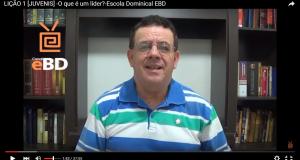 LIÇÃO 1 [JUVENIS] -O que é um líder?-Escola Dominical EBD