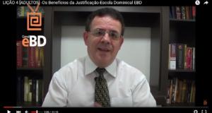 LIÇÃO 4 [ADULTOS] -Os Benefícios da Justificação-Escola Dominical EBD