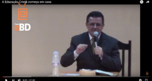 """Palestra """"A Educação Cristã começa em casa"""" em Barra Bonita/SP"""