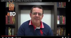 LIÇÃO 6 [JUVENIS] -Os profetas em Israel-Escola Dominical EBD