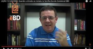 LIÇÃO 10 [JOVENS] -Quando a divisão se instala na família-Escola Dominical EBD