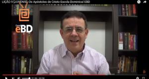 LIÇÃO 9 [JUVENIS] -Os Apóstolos de Cristo-Escola Dominical EBD