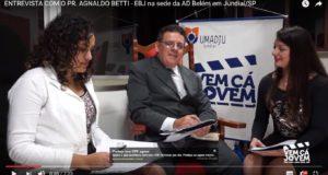 ENTREVISTA COM O PR. AGNALDO BETTI na Escola Bíblica de Jovens na sede da AD Belém em Jundiaí/SP (Pr. Esequias Soares)
