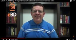 LIÇÃO 4 [JUVENIS] – A Importância da Nação de Israel-Escola Dominical EBD