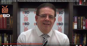 LIÇÃO 4 [ADULTOS] –Possessão Demoníaca e a Autoridade do Nome de Jesus-Escola Dominical EBD