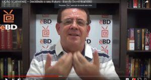 LIÇÃO 5 [JOVENS] – Decidindo o seu Futuro – Escola Dominical EBD