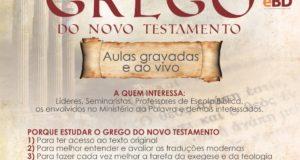 CURSO BÁSICO DE GREGO DO NOVO TESTAMENTO