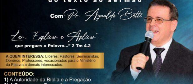 CURSO PREGAÇÃO EXPOSITIVA – Do Texto ao Sermão