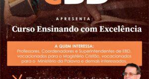 Curso ENSINANDO COM EXCELÊNCIA